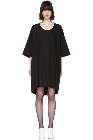 Jil Sander - Black T-Shirt Dress