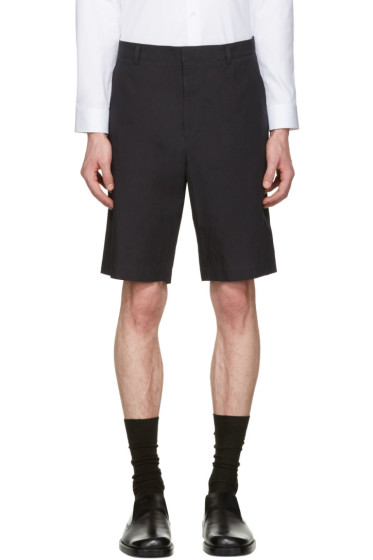 Jil Sander - Blue Cotton Shorts