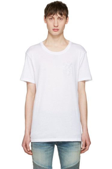 Balmain - White Lion T-Shirt