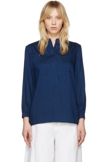 A.P.C. - Indigo Cecile Shirt