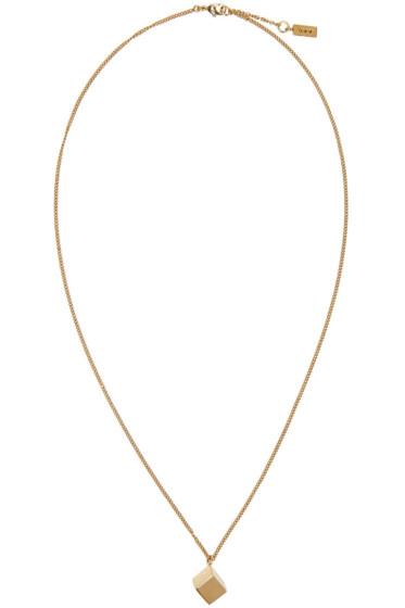A.P.C. - Gold Bristol Necklace