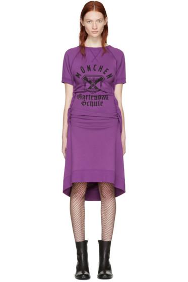Junya Watanabe - Purple Pullover Dress