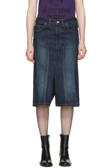Junya Watanabe - Indigo Cropped Jeans