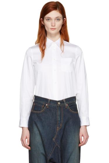 Junya Watanabe - White Twill Shirt