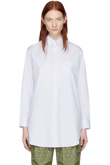 Junya Watanabe - White Striped Shirt