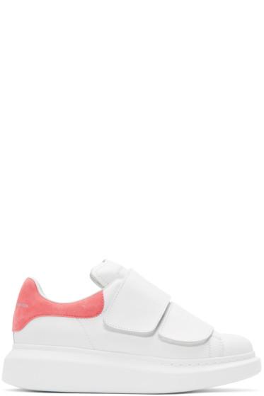 Alexander McQueen - White Straps Oversized Sneakers