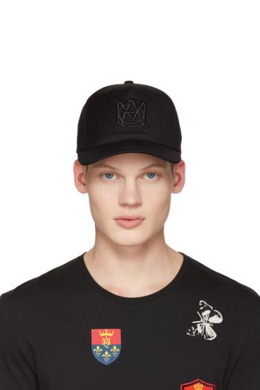 Alexander McQueen - Black Insignia Cap