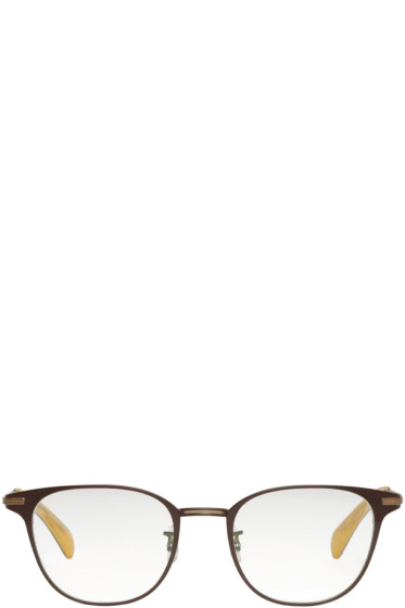 Paul Smith - Brown Maddock Glasses