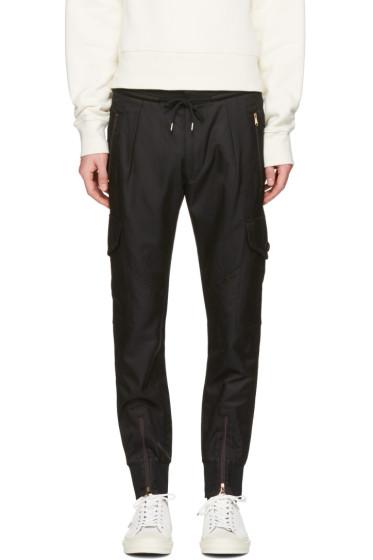 Paul Smith - Black Multi-Pocket Cargo Pants