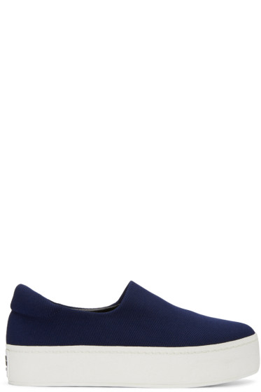 Opening Ceremony - Navy Cici Slip-On Sneakers