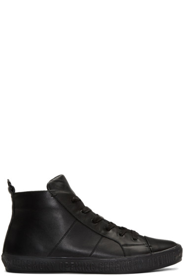 Opening Ceremony - Black Howard High-Top Sneakers