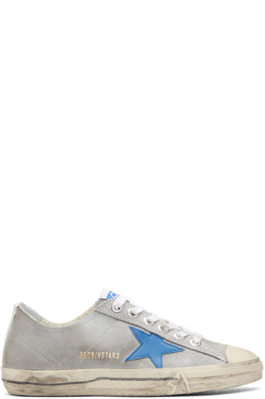 Golden Goose - Grey V-Star 2 Sneakers