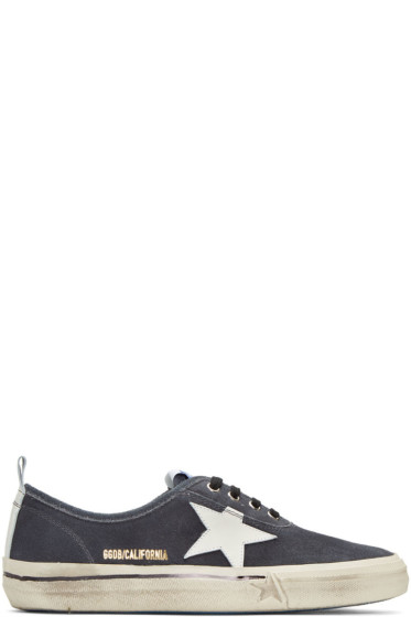 Golden Goose - Black Suede California Sneakers