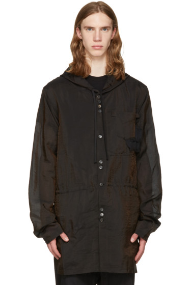 Damir Doma - Brown Silk Jim Coat