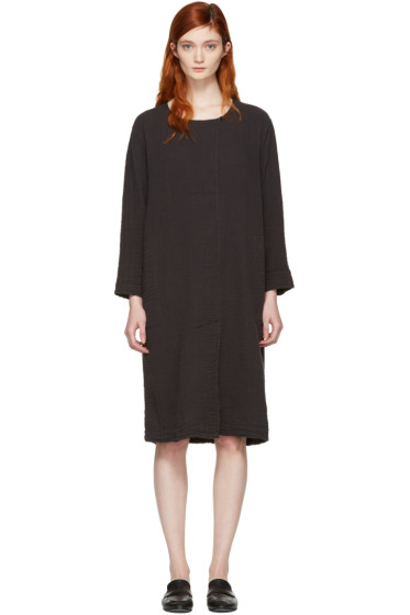 Raquel Allegra - Black Boxy Day Dress