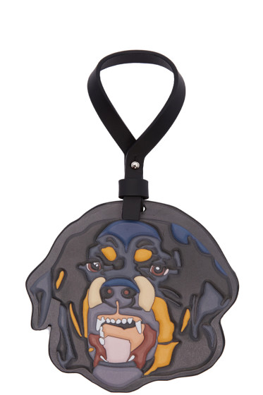 Givenchy - Multicolor Leather Rottweiller Bag Charm