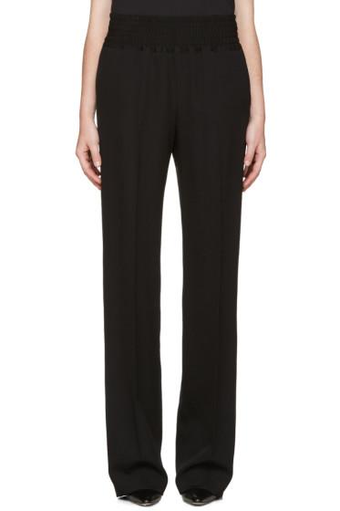 Givenchy - Black Wool Lounge Pants
