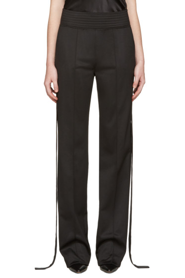 Givenchy - Black Strap Trousers