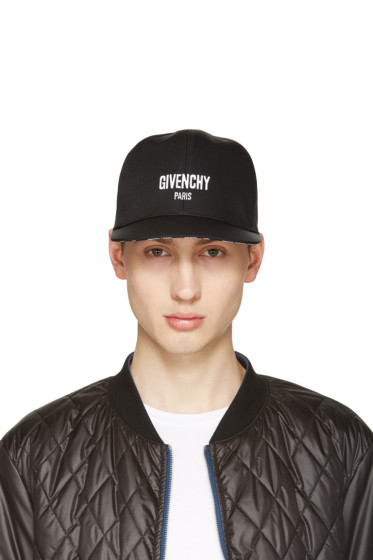 Givenchy - Black Logo Cap