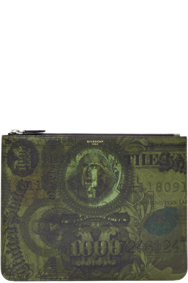 Givenchy - Green Money Pouch