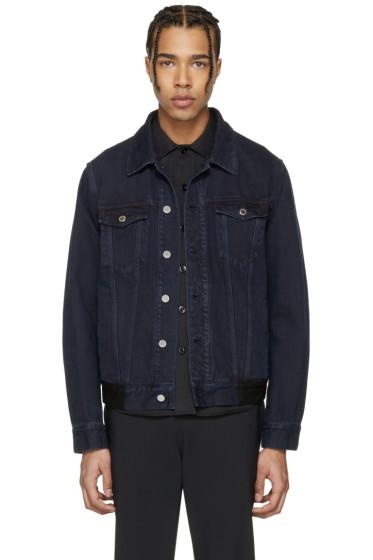 Givenchy - Blue Denim Back Tape Jacket