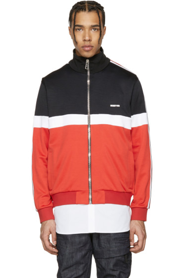 Givenchy - Tricolor Colorblocked Track Jacket