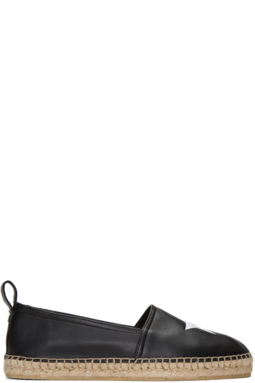 Givenchy - Black Star Espadrilles