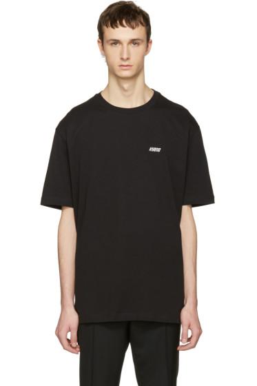 Raf Simons - Black Hyena T-Shirt