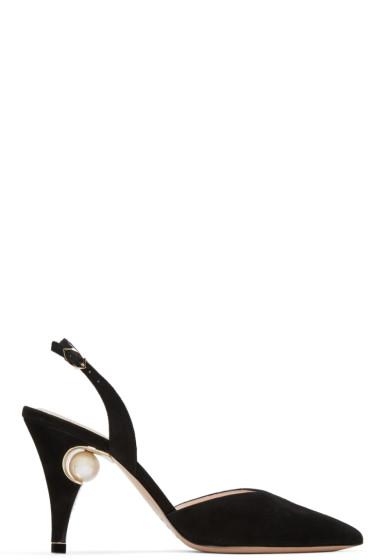 Nicholas Kirkwood - Black Penelope Pearl Heels