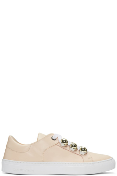 Carven - Beige Button Sneakers