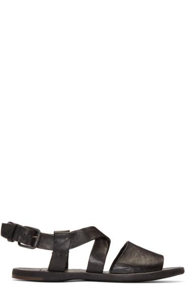 Officine Creative - Black Culatta 12 Sandals