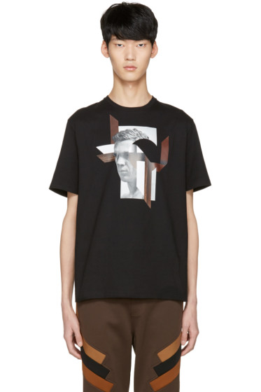Neil Barrett - Black Modernist Steve McQueen T-Shirt