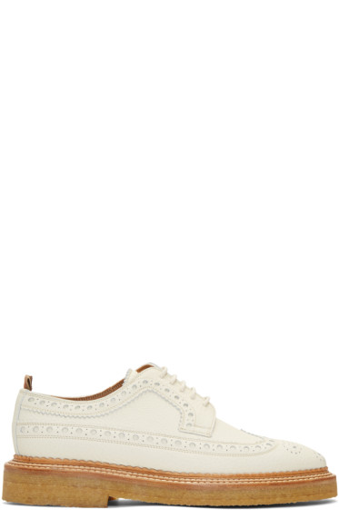 Burberry - Off-White Burroughs Brogues