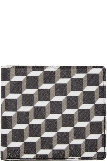 Pierre Hardy - Tricolor Cube Wallet