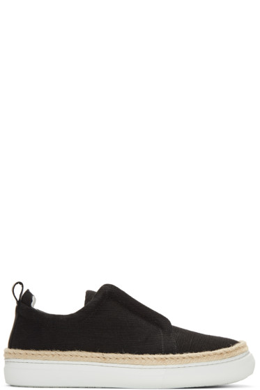 Pierre Hardy - Black Sliderdrille Sneakers