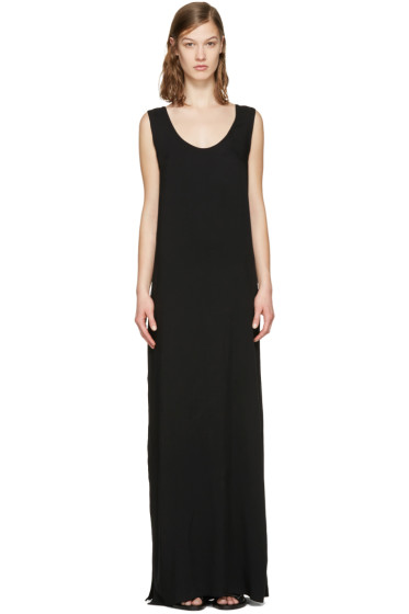 Ann Demeulemeester - Black Long Chastain Dress