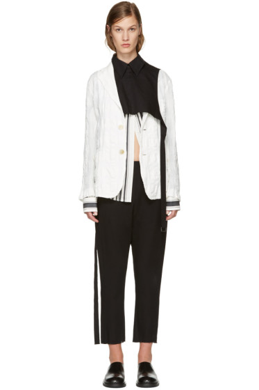 Ann Demeulemeester - Black Overpiece Shirt