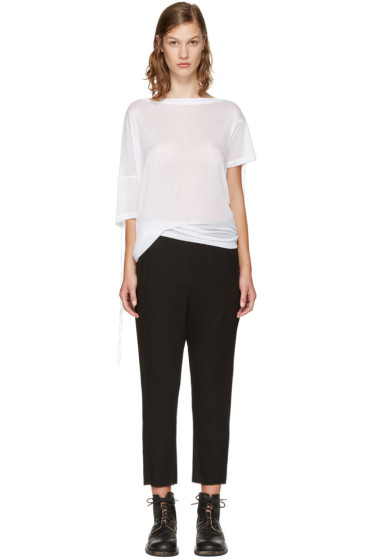 Ann Demeulemeester - White Trish T-Shirt