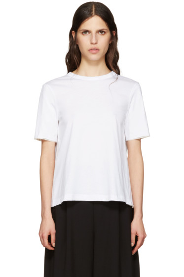 Marni - White Tie Back T-Shirt