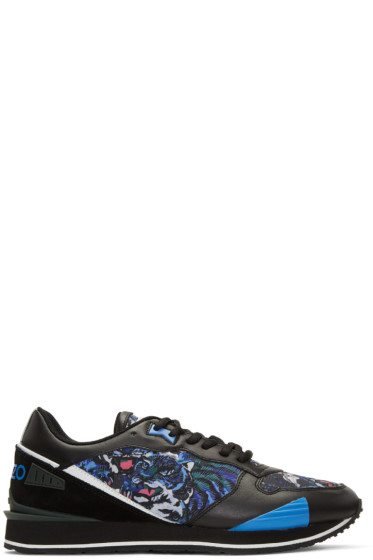 Kenzo - Blue Flying Tiger Running Sneakers
