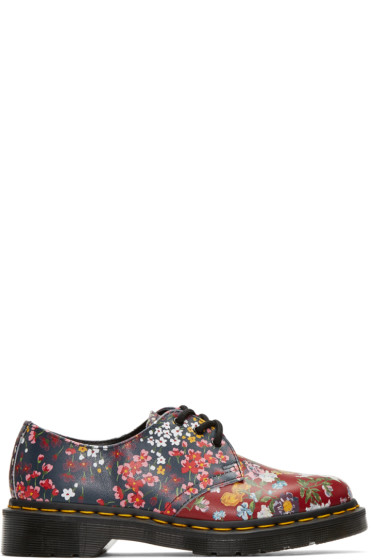 Dr. Martens - Multicolor Floral Mix 1461 FC Derbys