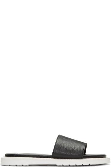 Dr. Martens - Black Cierra II Slide Sandals