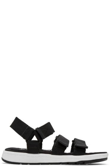 Dr. Martens - Black Maldon Sandals
