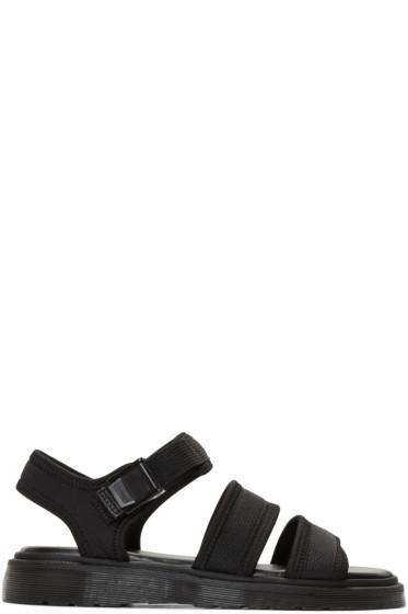Dr. Martens - Black Effra Tech Sandals