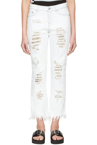 Versus - Blue Distressed Jeans