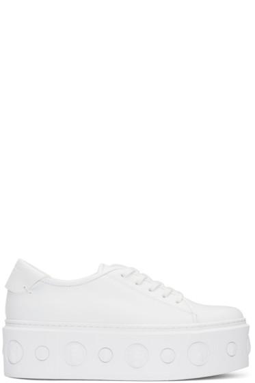 Versus - White Lion Platform Sneakers