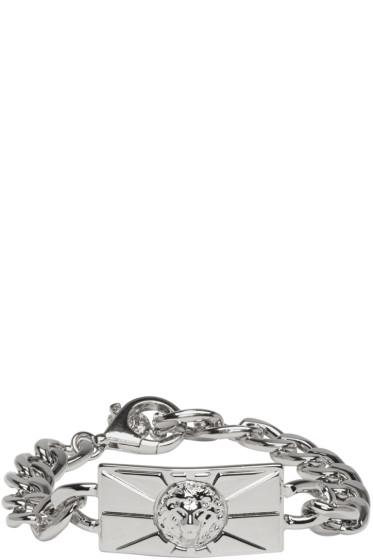 Versus - Silver Lion Chain Bracelet