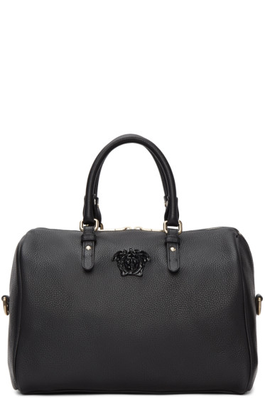 Versace - Black Barrel Duffle Bag