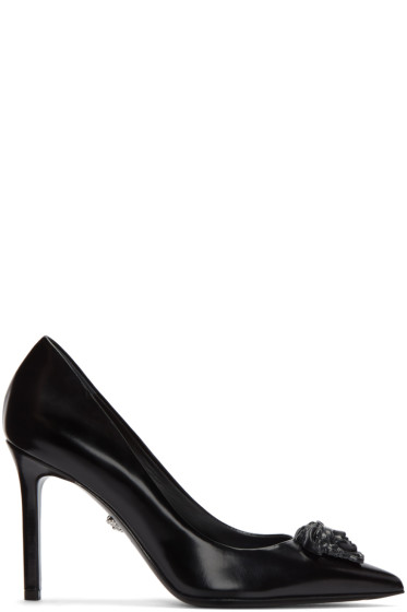Versace - Black Medusa Pumps