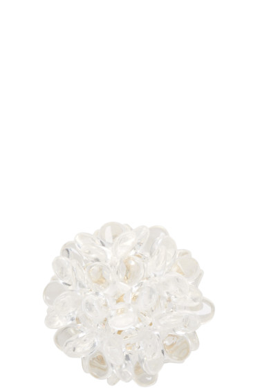 Simone Rocha - Transparent Beaded Ball Earring